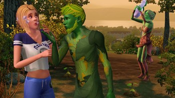 Screenshot1 - Les Sims 3: University Life