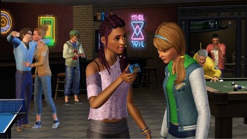 Screenshot2 - Les Sims 3: University Life