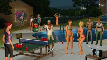 Screenshot3 - Les Sims 3: University Life