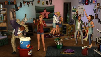 Screenshot4 - Les Sims 3: University Life
