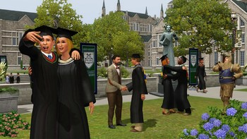 Screenshot5 - Les Sims 3: University Life