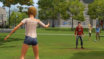 Screenshot7 - Les Sims 3: University Life