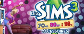 Die Sims 3: 70's, 80's & 90's Accessoires