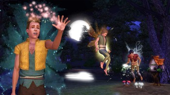 Screenshot3 - Les Sims 3 : Super-Pouvoirs