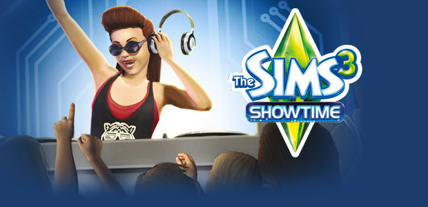 The Sims 3 Showtime - Cover / Packshot