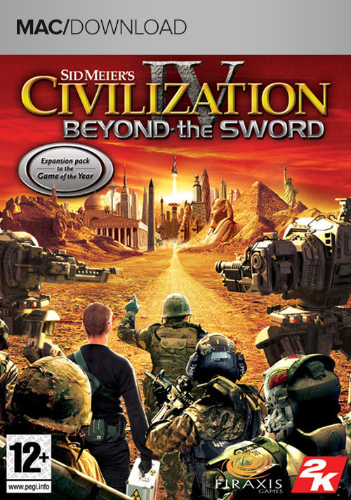 Civilization IV Beyond the Sword (Mac) - Cover / Packshot