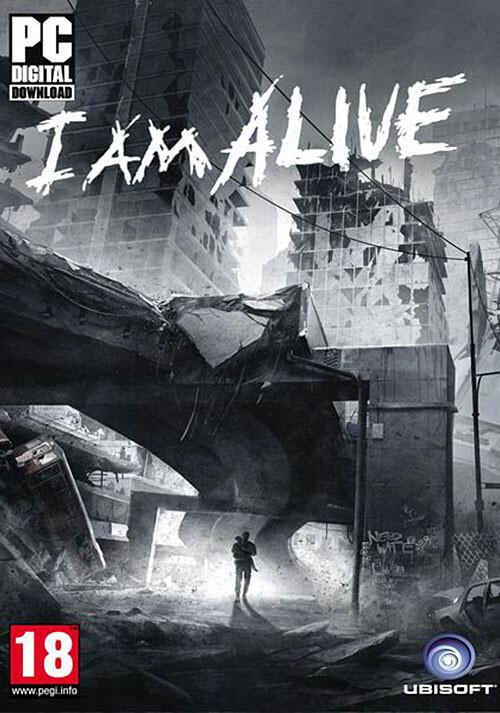 I Am Alive - Cover / Packshot