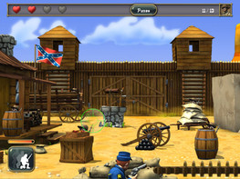 Screenshot4 - The Blue Coats: North VS South