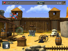 Screenshot3 - The Blue Coats: North VS South