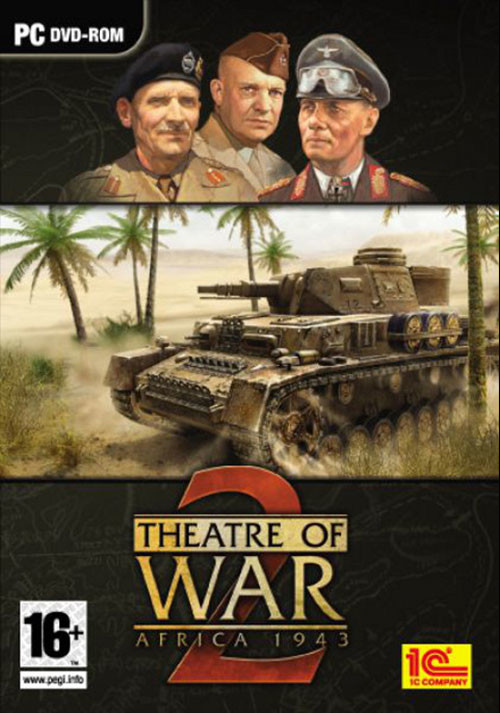 Theatre of War 2: Africa 1943 - Cover