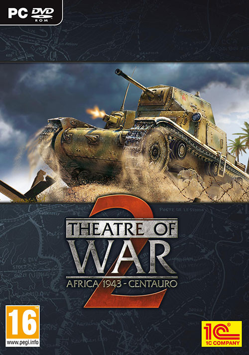 Theatre of War 2: Centauro - Cover / Packshot