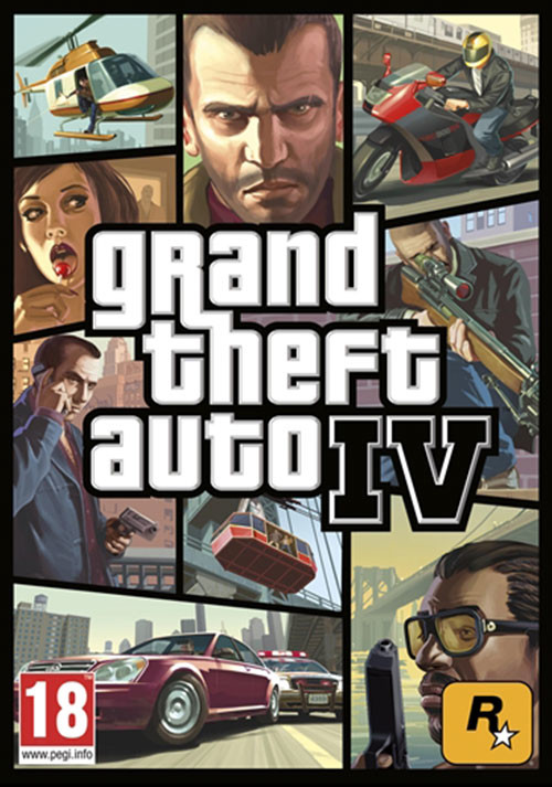 Grand Theft Auto IV - Cover / Packshot