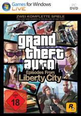 Grand Theft Auto: Episodes from Liberty City - Cover