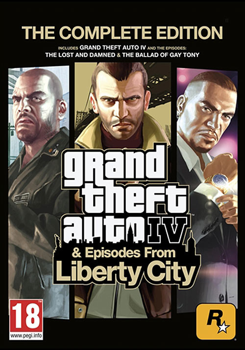 Grand Theft Auto IV: Complete Edition - Cover / Packshot