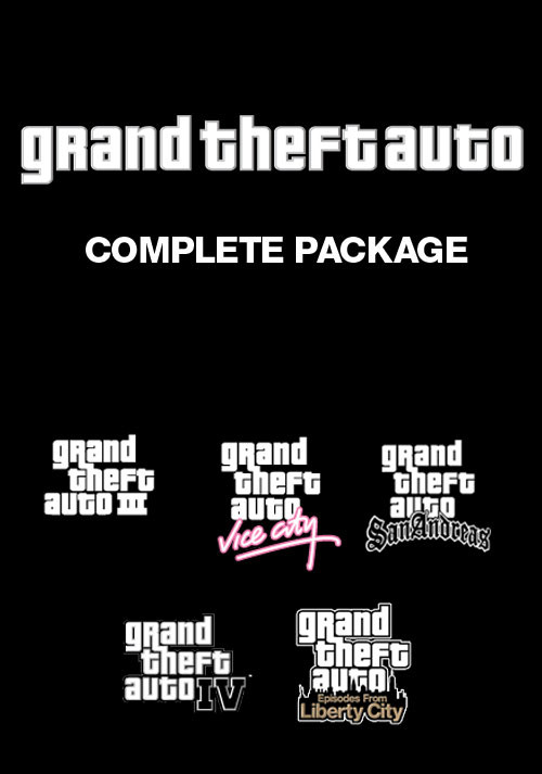 Grand Theft Auto Complete Pack - Cover