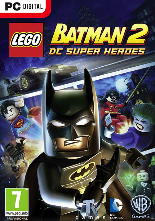 LEGO Batman 2: DC Super Heroes - Cover