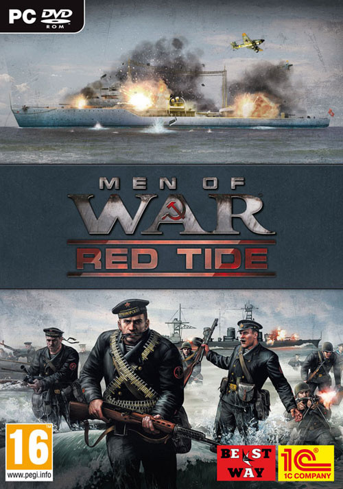Men of War: Red Tide - Cover