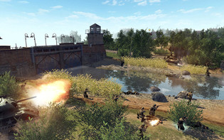 Screenshot3 - Men of War: Red Tide