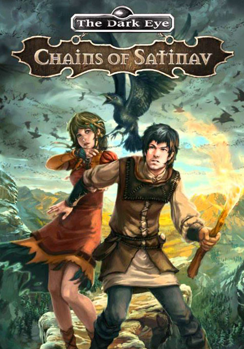 The Dark Eye - Chains of Satinav - Cover / Packshot