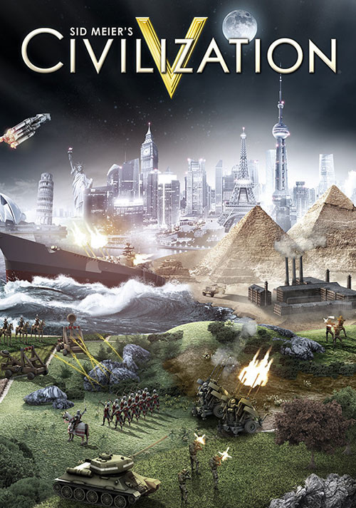 Civilization V (Mac) - Cover / Packshot