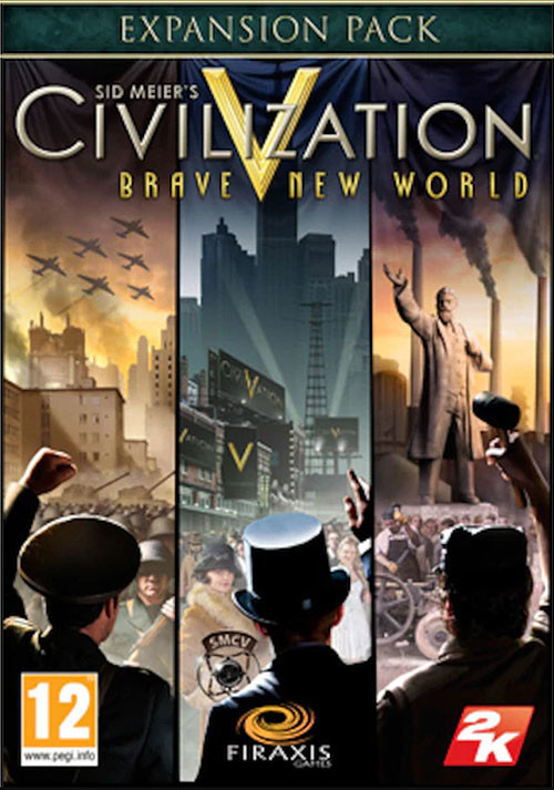 Civilization V: Brave New World (Mac) - Cover
