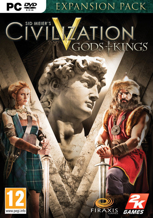 Civilization V: Gods and Kings (Mac) - Cover / Packshot