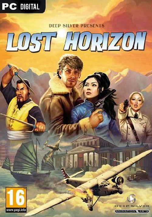 Lost Horizon - Cover / Packshot