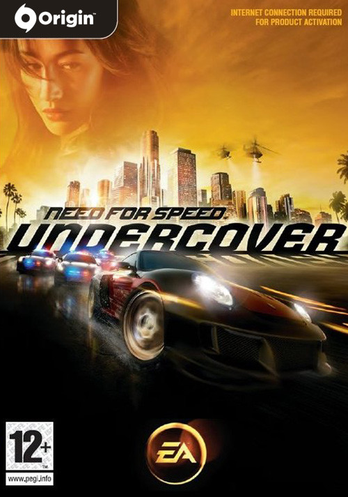 Need For Speed - Undercover - Cover / Packshot