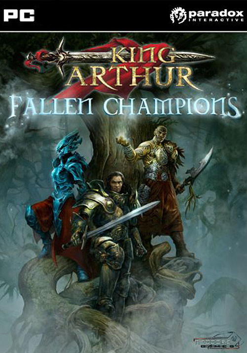King Arthur: Fallen Champions - Cover