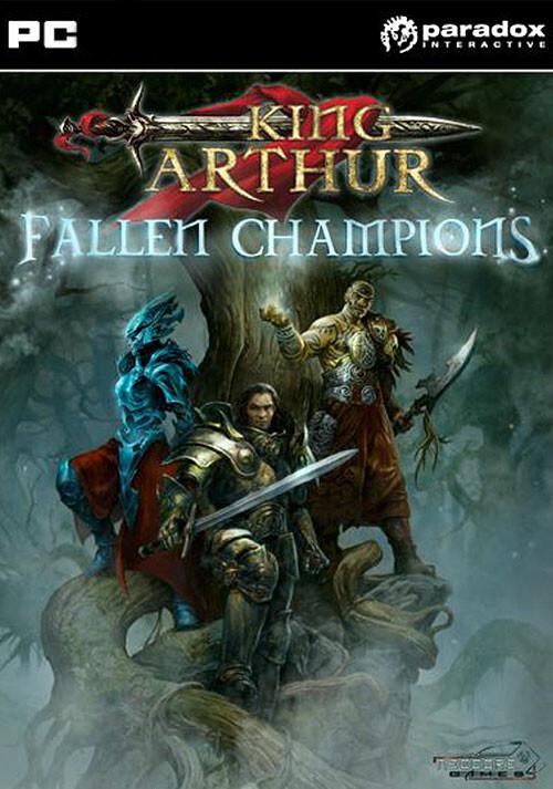 King Arthur: Fallen Champions - Cover