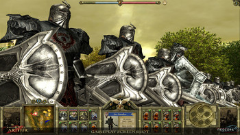 Screenshot2 - King Arthur - The Role-playing Wargame