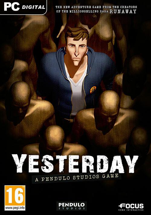 Der Fall John Yesterday (GOG) - Cover / Packshot