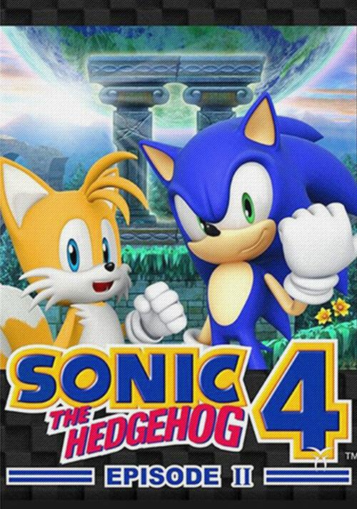 Sonic The Hedgehog 4 Episode II - Cover / Packshot