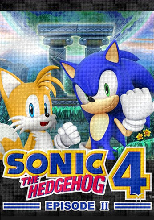 Sonic The Hedgehog 4 Episode II - Cover / Packshot