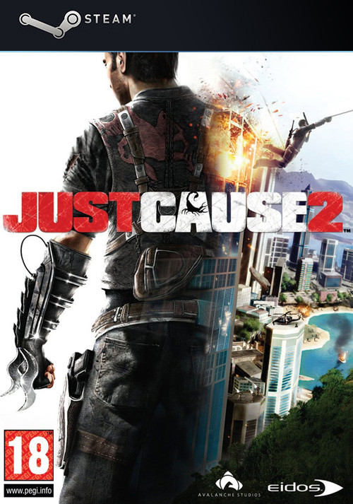 Just Cause 2 - Cover