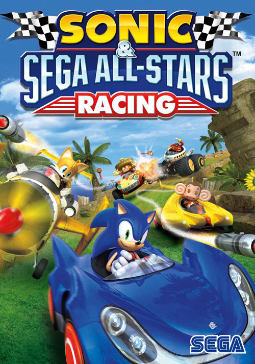 Sonic and SEGA All-Stars Racing - Cover / Packshot