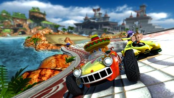 Screenshot1 - Sonic and SEGA All-Stars Racing