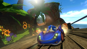 Screenshot2 - Sonic and SEGA All-Stars Racing