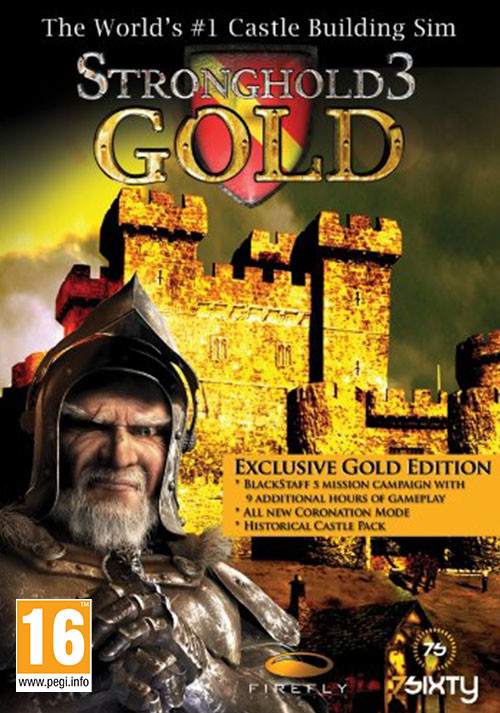 Stronghold 3 - Gold - Cover / Packshot
