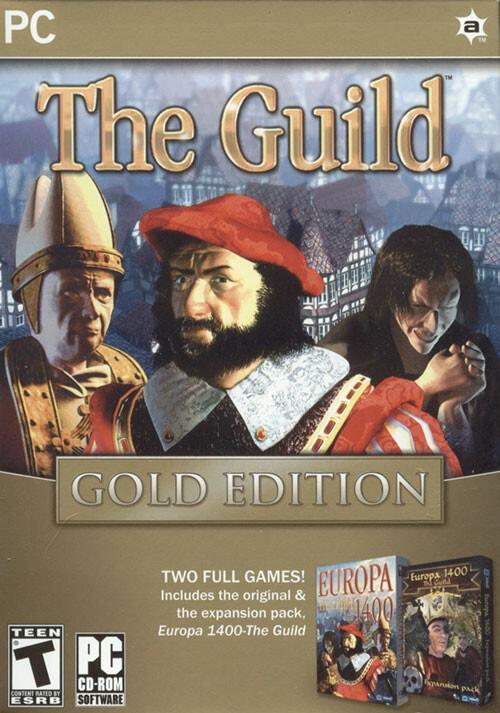 Die Gilde 1 Gold - Cover / Packshot