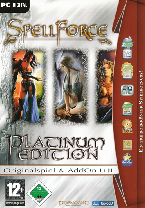 SpellForce Platinum - Cover / Packshot