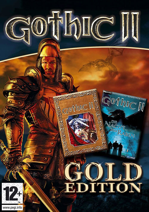 Gothic 2 Gold - Cover / Packshot