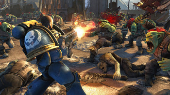 Screenshot3 - Warhammer 40,000: Space Marine