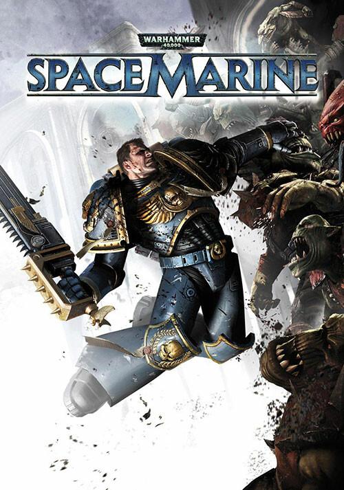 Warhammer 40,000: Space Marine - Cover / Packshot