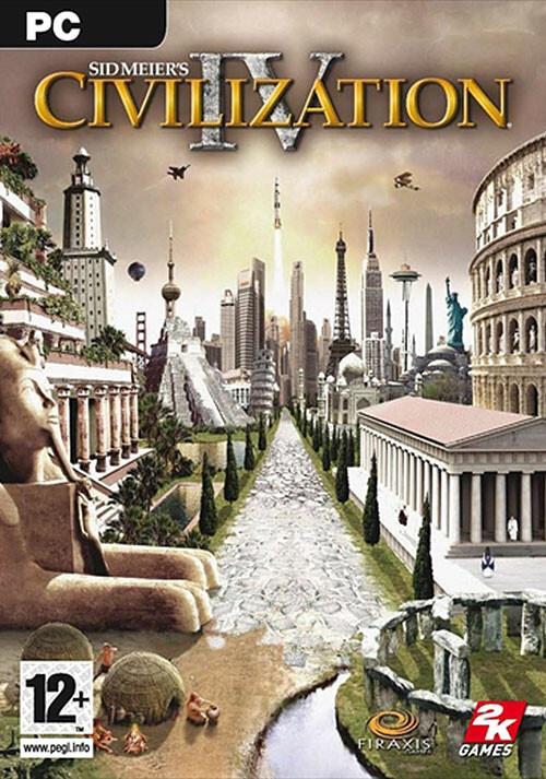 Civilization IV - Cover / Packshot