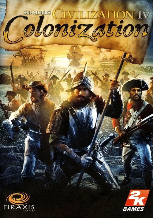 Civilization IV - Colonization - Cover / Packshot