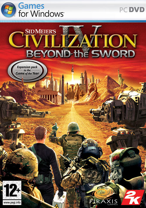 Civilization IV - Beyond the Sword DLC - Packshot