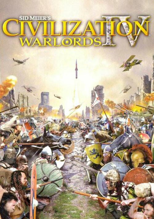 Civilization IV: Warlords DLC - Cover / Packshot