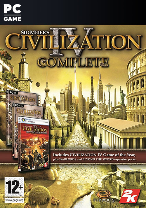 Civilization IV: Complete Edition - Cover