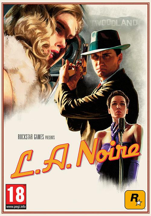 L.A. Noire - Cover / Packshot
